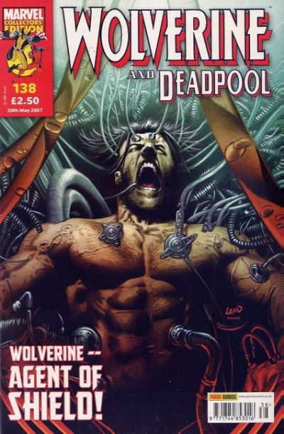 Cover for Wolverine and Deadpool (2004 series) #138