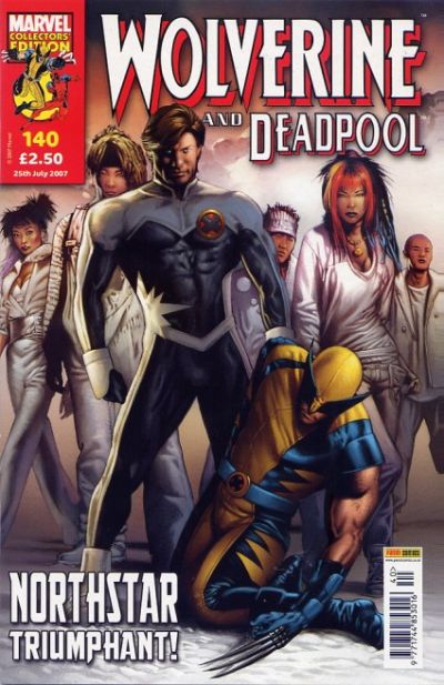 Cover for Wolverine and Deadpool (Panini UK, 2004 series) #140