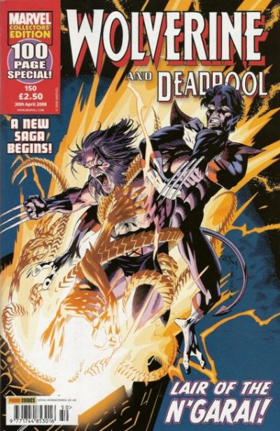 Cover for Wolverine and Deadpool (Panini UK, 2004 series) #150