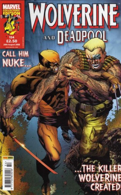 Cover for Wolverine and Deadpool (Panini UK, 2004 series) #154