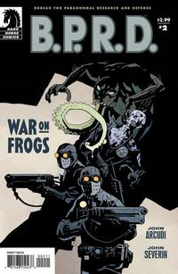 Cover Thumbnail for B.P.R.D.: War on Frogs (Dark Horse, 2008 series) #2