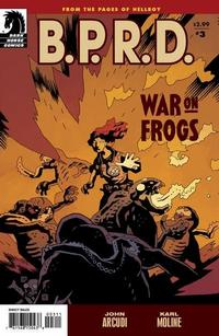 Cover Thumbnail for B.P.R.D.: War on Frogs (Dark Horse, 2008 series) #3