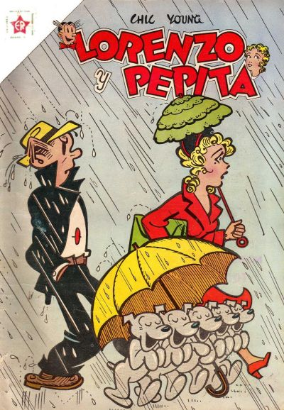 Cover for Lorenzo y Pepita (Editorial Novaro, 1954 series) #143