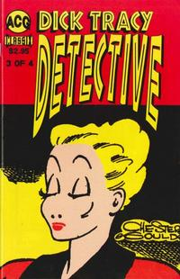 Cover for Dick Tracy Detective (1999 series) #3