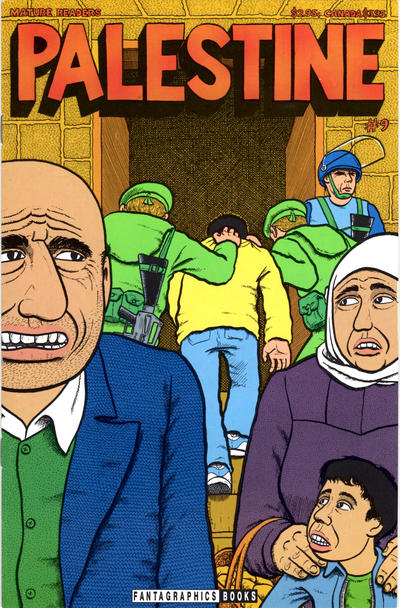 Cover for Palestine (Fantagraphics, 1993 series) #9