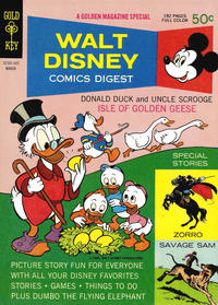 Cover Thumbnail for Walt Disney Comics Digest (Western, 1968 series) #9