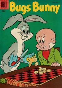 Cover Thumbnail for Bugs Bunny (Dell, 1952 series) #49