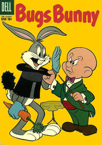 Cover Thumbnail for Bugs Bunny (Dell, 1952 series) #65