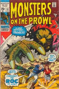Cover Thumbnail for Monsters on the Prowl (Marvel, 1971 series) #10