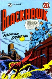 Cover Thumbnail for Blackhawk (K. G. Murray, 1959 series) #47
