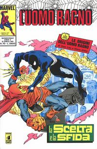 Cover for L' Uomo Ragno (Edizioni Star Comics, 1987 series) #70