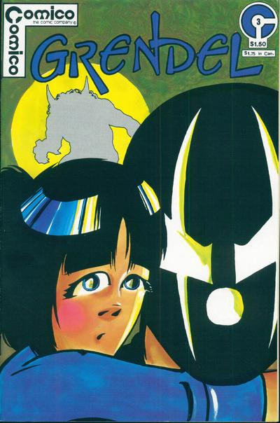 Cover for Grendel (Comico, 1983 series) #3