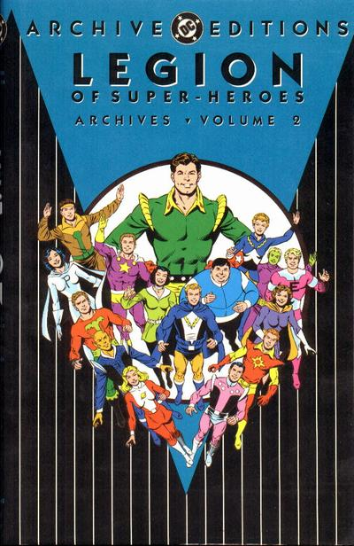 Cover for The Legion of Super-Heroes Archives (1991 series) #2