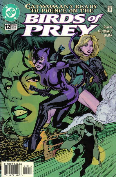 Cover for Birds of Prey (1999 series) #12