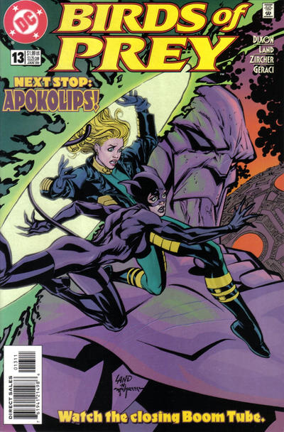 Cover for Birds of Prey (1999 series) #13