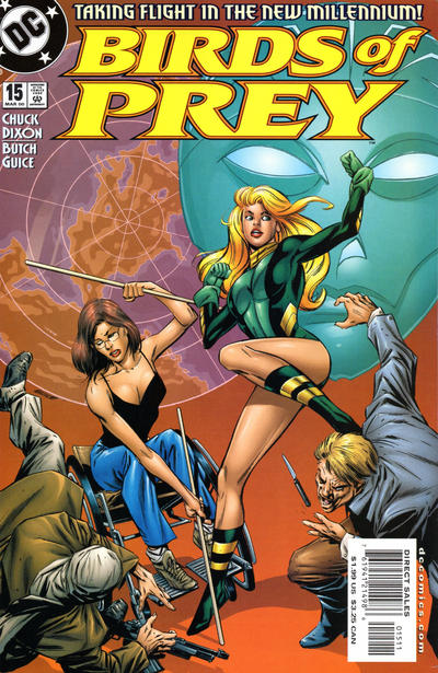 Cover for Birds of Prey (1999 series) #15