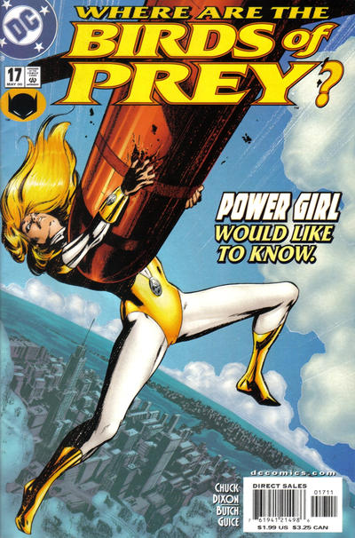 Cover for Birds of Prey (DC, 1999 series) #17