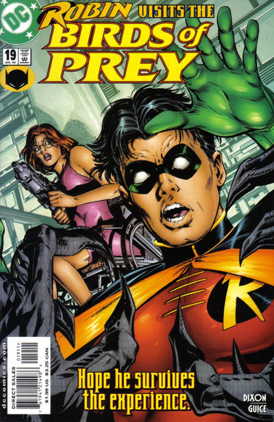 Cover for Birds of Prey (1999 series) #19
