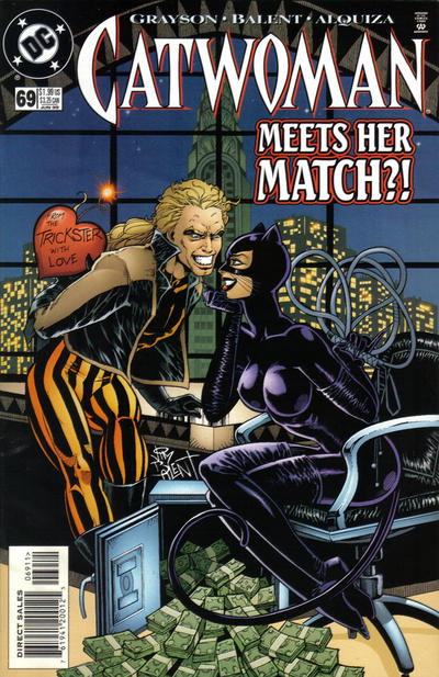 Cover for Catwoman (1993 series) #69