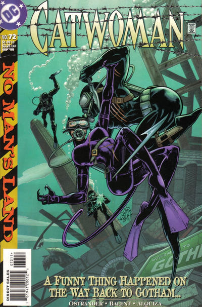 Cover for Catwoman (DC, 1993 series) #72