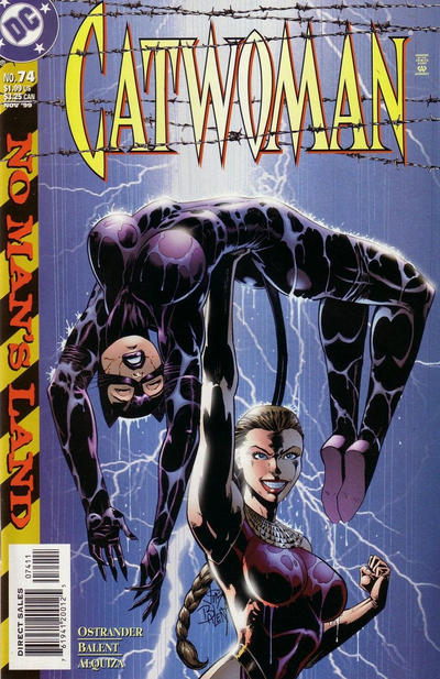 Cover for Catwoman (DC, 1993 series) #74