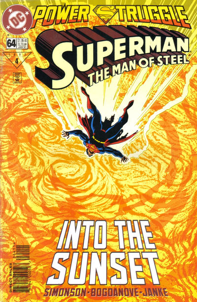 Cover for Superman: The Man of Steel (DC, 1991 series) #64