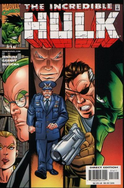 Cover for Incredible Hulk (Marvel, 2000 series) #16