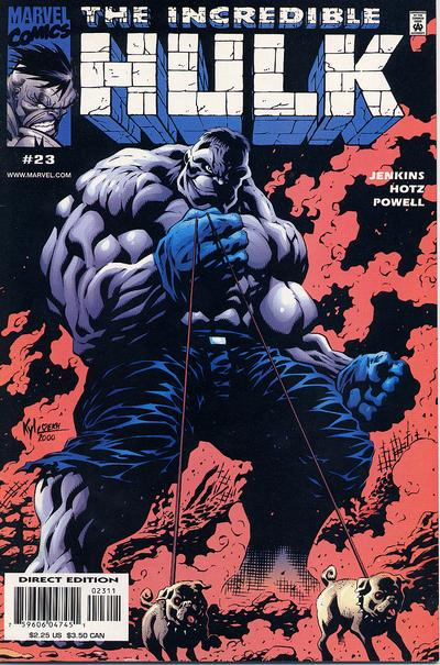 Cover for Incredible Hulk (Marvel, 2000 series) #23