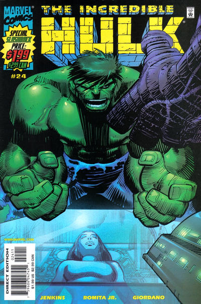 Cover for Incredible Hulk (Marvel, 2000 series) #24