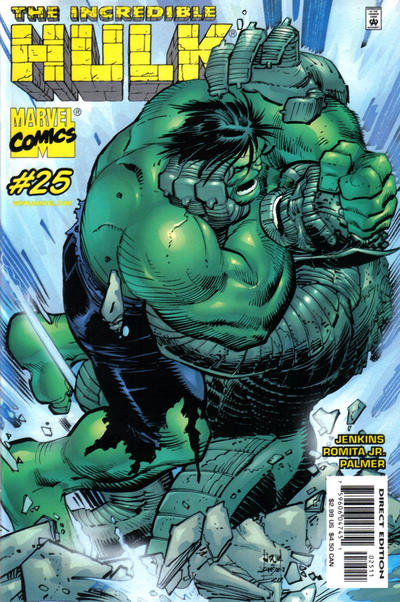 Cover for Incredible Hulk (Marvel, 2000 series) #25