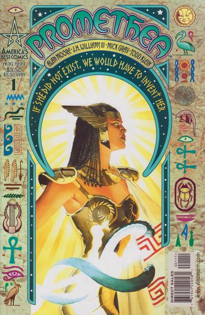 Cover for Promethea (DC, 1999 series) #1 [Cover A]