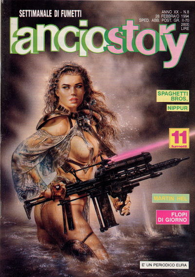 Cover for Lanciostory Anno XX (1994 series) #vXX#8