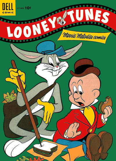 Cover for Looney Tunes and Merrie Melodies Comics (Dell, 1954 series) #156