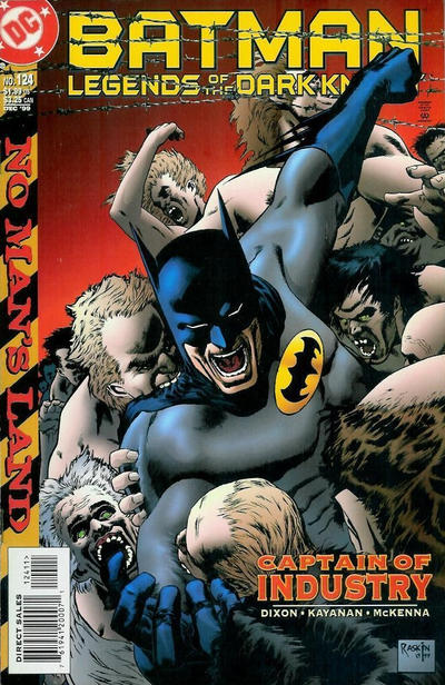 Cover for Batman: Legends of the Dark Knight (DC, 1992 series) #124