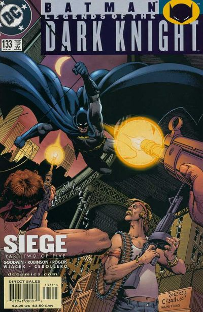 Cover for Batman: Legends of the Dark Knight (1992 series) #133