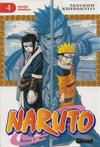 Cover for Naruto (Ediciones Glénat, 2002 series) #4