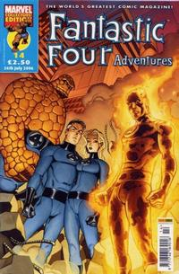 Cover Thumbnail for Fantastic Four Adventures (Panini UK, 2005 series) #14