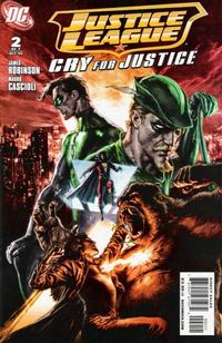 Cover Thumbnail for Justice League: Cry for Justice (DC, 2009 series) #2