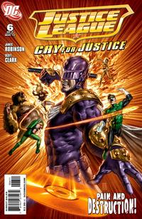 Cover Thumbnail for Justice League: Cry for Justice (DC, 2009 series) #6