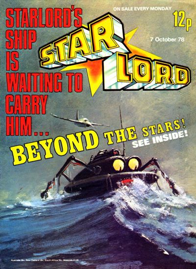 Cover for Starlord (1978 series) #October 7th 1978 [22]