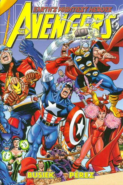 Cover for Avengers Assemble (2004 series) #1