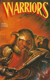 Cover Thumbnail for Warriors (Adventure Publications, 1987 series) #1