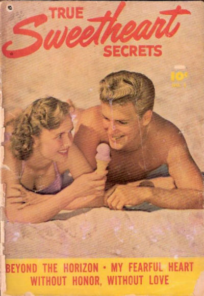 Cover for True Sweetheart Secrets (Export Publishing, 1950 series) #1