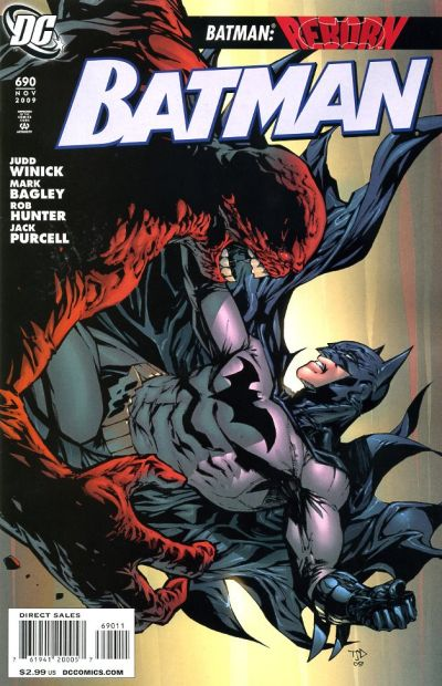 Cover for Batman (DC, 1940 series) #690