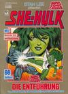 Cover for Marvel Comic Exklusiv (Condor, 1987 series) #5 - She-Hulk - Die Entführung