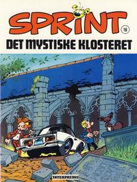 Cover Thumbnail for Sprint [Sprint & Co.] (Interpresse, 1977 series) #16 - Det mystiske klosteret