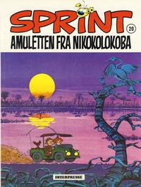 Cover Thumbnail for Sprint [Sprint &amp; Co.] (Interpresse, 1977 series) #20 - Amuletten fra Nikokolokoba
