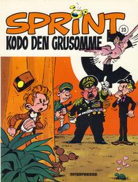 Cover Thumbnail for Sprint [Sprint &amp; Co.] (Interpresse, 1977 series) #23 - Kodo den grusomme