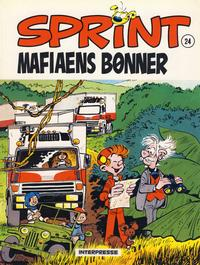 Cover Thumbnail for Sprint [Sprint & Co.] (Interpresse, 1977 series) #24 - Mafiaens bønner