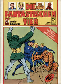 Cover Thumbnail for Die Fantastischen Vier (Condor, 1979 series) #1